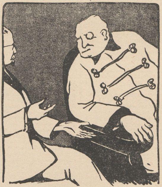 Lucien Deslinières & J. Marc-Py - La Résurrection du Dr Valbel, illustrations de Jean Clar in Floréal n°23 du 04/06/1921