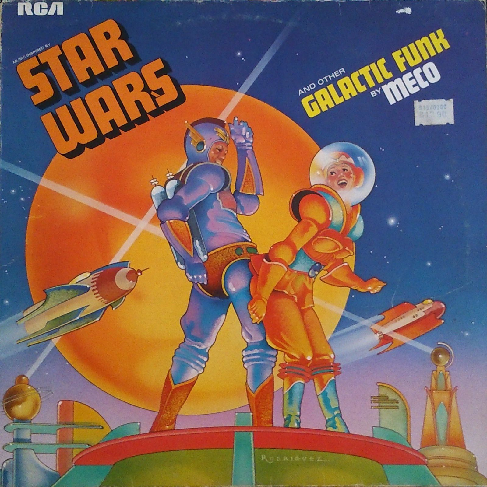 Meco - Music inspired by Star Wars ans other Galactic Funk LP (RCA Victor - 1977)