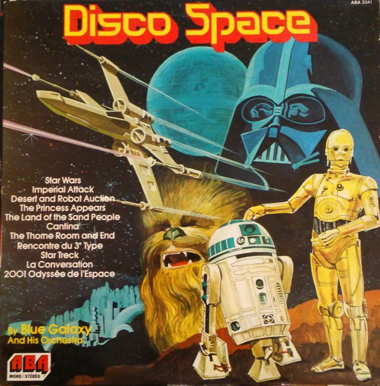 Blue Galaxy and his Orchestra - Disco Space LP (ABA - 1977)