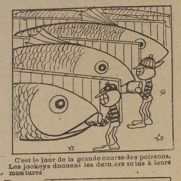 """Paul Sellier """"Le Grand prix sous-marin"""" in La Jeunesse illustrée n°6 du 5 avril 1903."""
