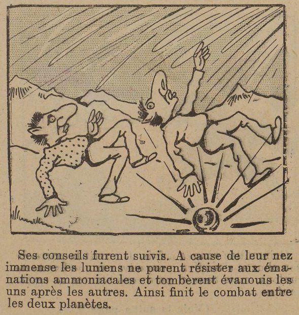 Mauryce Motet - Rivalité de la Terre et de la Lune (1903)