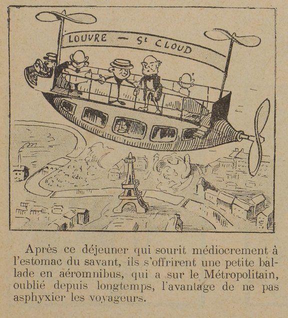 Georges Cyr - Petit voyage dans l'avenir (1906)