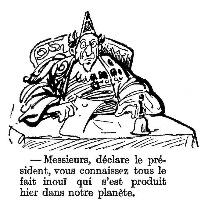Henri Henriot - L'Obus dans la Lune (1918)