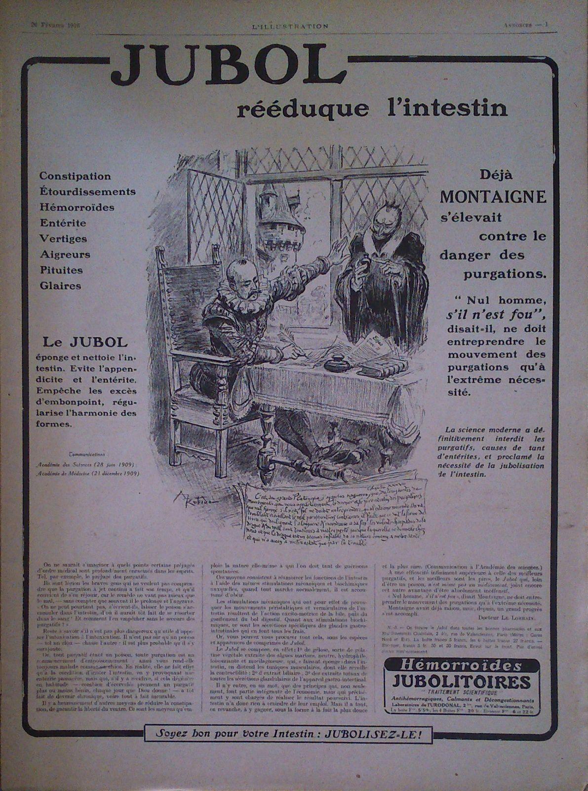 Albert Robida : de l'intestin à l'acide urique (1916-1919)