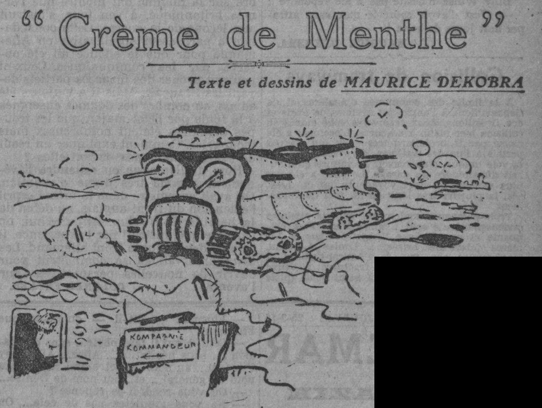 Maurice Dekobra - Crème de Menthe (1916)