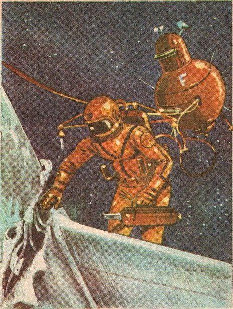 Joseph Greene - Voyage vers Jupiter (1966), illustré par Giannini