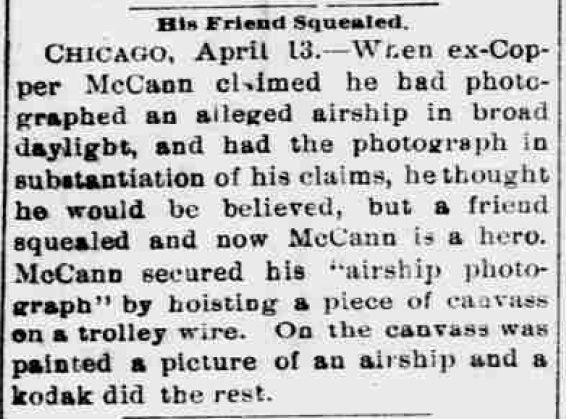 El Paso Daily Herald du 13 avril 1897