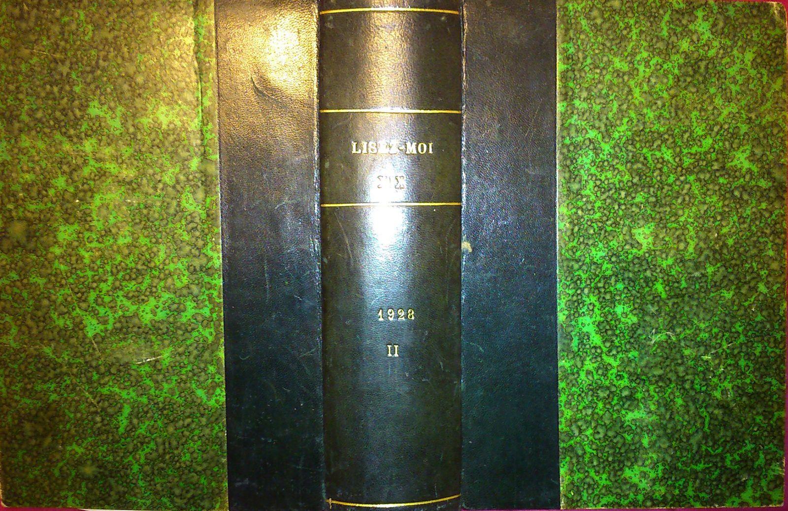 Lisez-Moi (Nouvelle série) - Reliure n°XIX n°149-160 (1928)