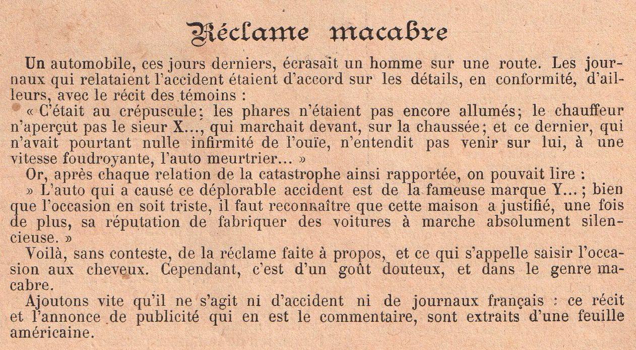 Almanach Vermot 1909 : Maladie de l'automobile, la langue de demain, la Terre menacée par l'électricité