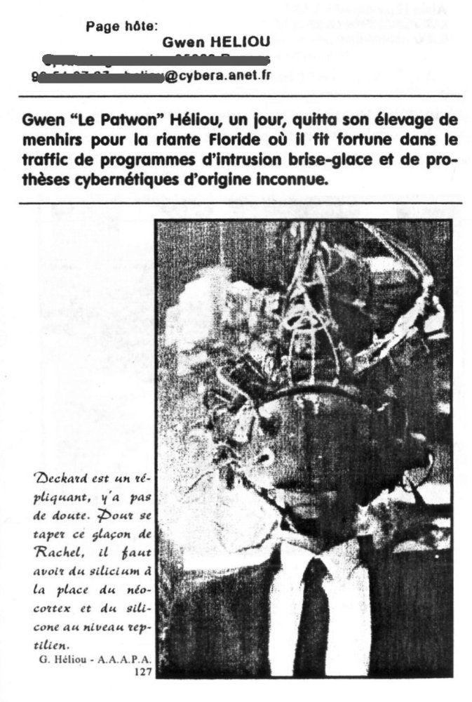 L'A. A.A.A.P.A. Fanzine et Fandom : objet Fanique - 1996