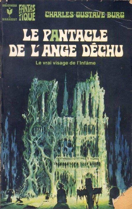 Le Pantacle de l'ange déchu par Charles-Gustave Burg - Couverture d'Henri Lievens