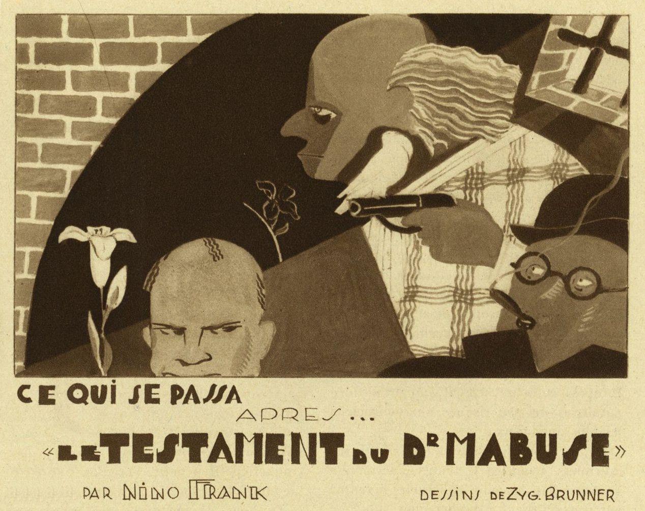 Nino Frank - Ce qui se passa après... « Le Testament du Dr Mabuse » (1933)