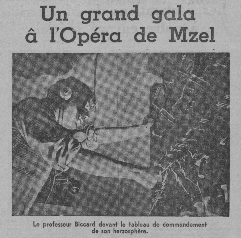Le Professeur Biccard a atteint la planète Mars ! (1933)
