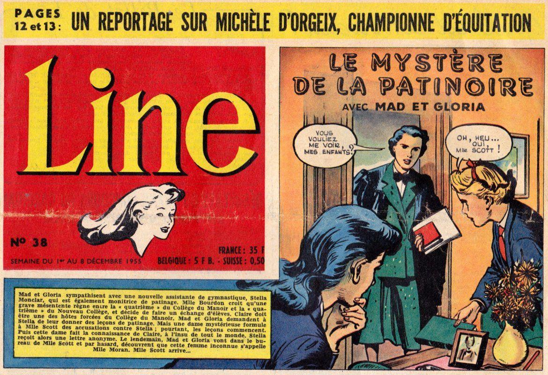 Vallée de Lune, Vicky une héroïne de Line, Le Journal des Chics Filles, Dargaud