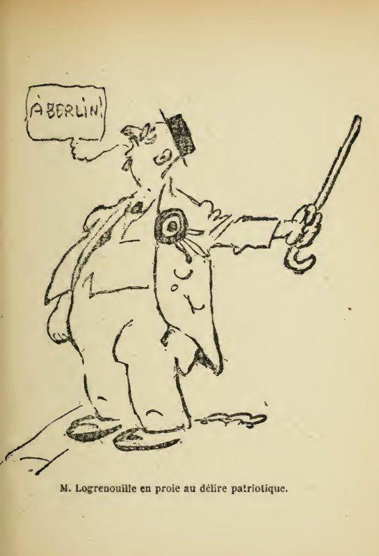 Gus Bofa, 1919 : Rollmops le dieu assis, la vie éphémère d'un dieu