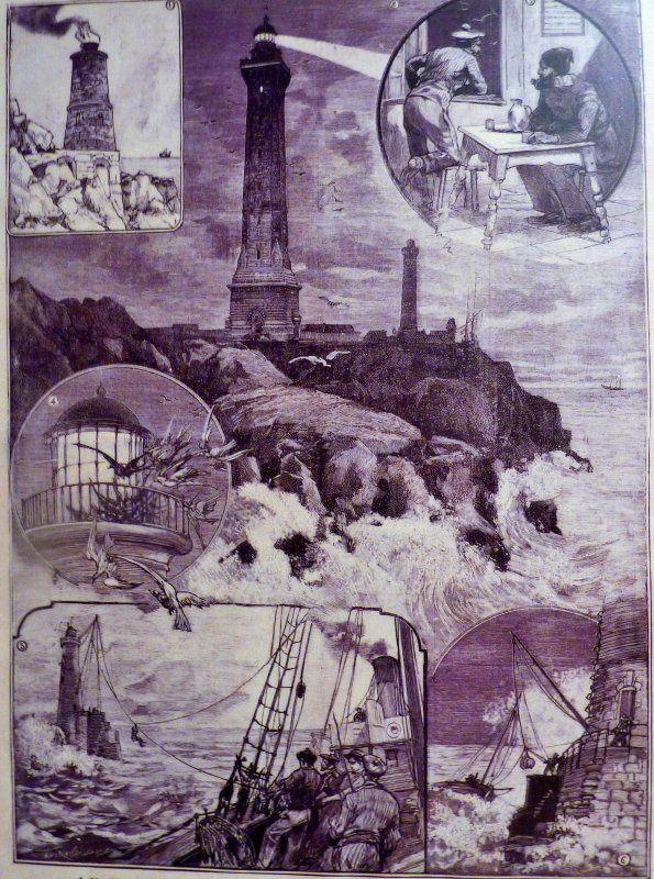 Le phare d'Eckmühl – Le Petit Parisien 24 octobre 1897
