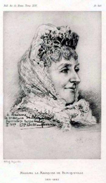 Marquise de Blocqueville, 1882