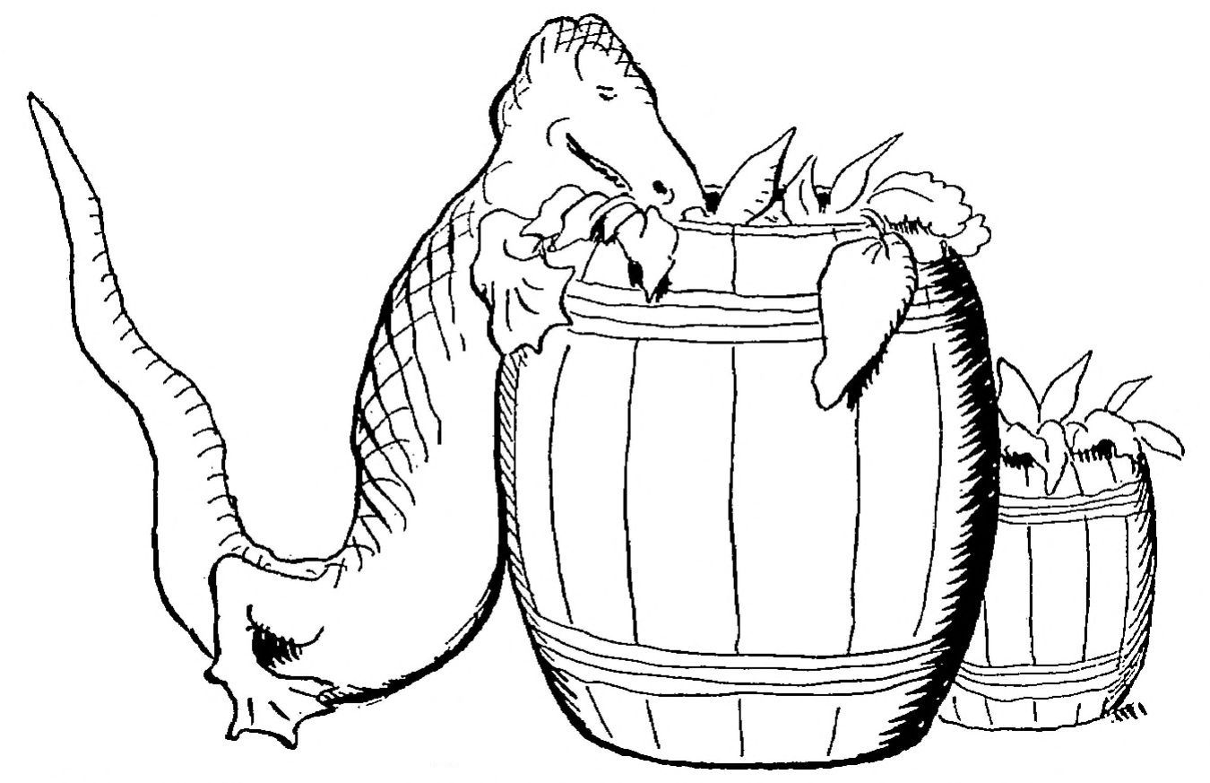 Willy - À propos du Diplodocus (1908), illustrations de Benjamin Rabier