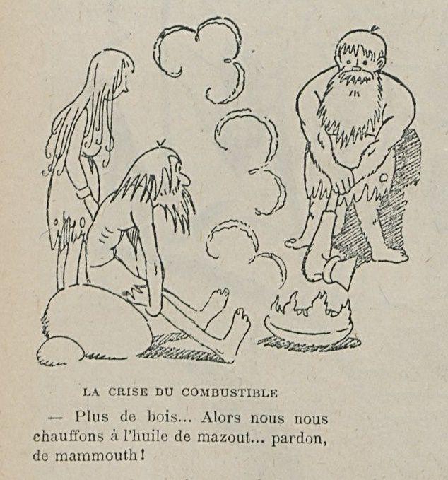 Marcel Arnac - A l'âge de pierre (1920)