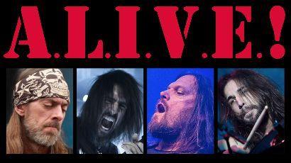 ALIVE! nouveau groupe hommage à Kiss avec Ron Thal !