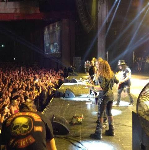 Slash jam avec Megadeth sur &quot&#x3B;Cold Sweat&quot&#x3B; de Thin Lizzy