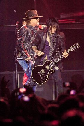 Richard Fortus évoque son recrutement au sein de Guns N' Roses