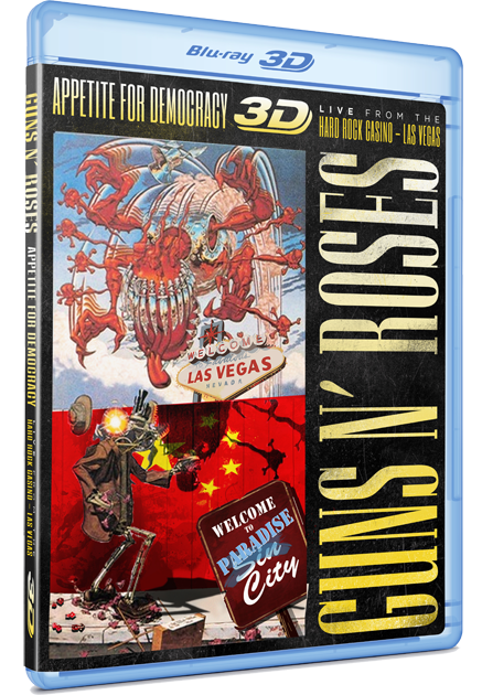 Le DVD &quot&#x3B;Appetite For Democracy 3D&quot&#x3B; c'est officiel !!!!!!!!!!!!!!!!!!!!!!!!!!!!!!