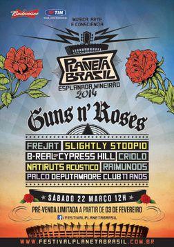 Guns N' Roses- Live At Planeta Brasil