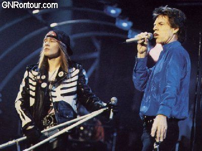 The Rolling Stones feat Axl Rose &amp&#x3B; Izzy Stradlin- &quot&#x3B;Salt Of The Earth&quot&#x3B;