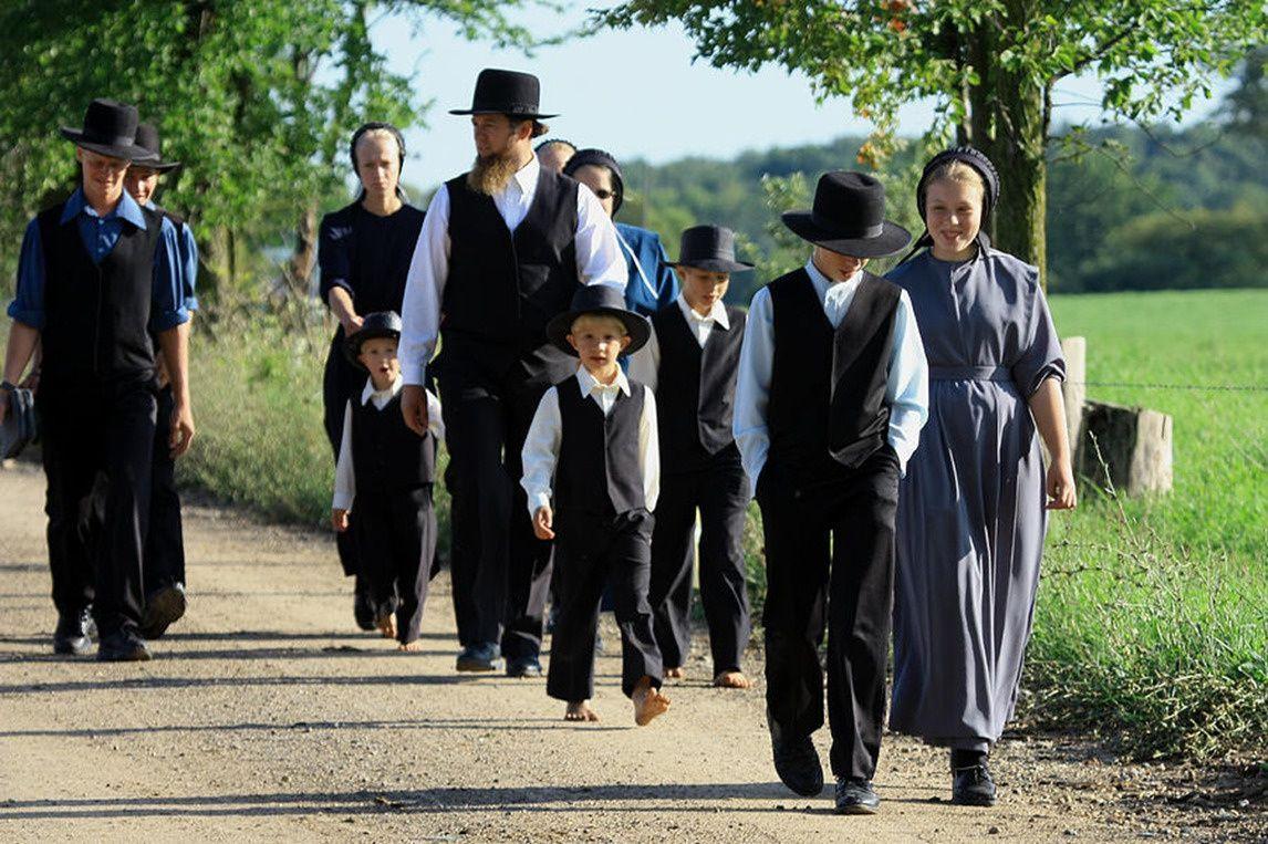 Une famille Amish