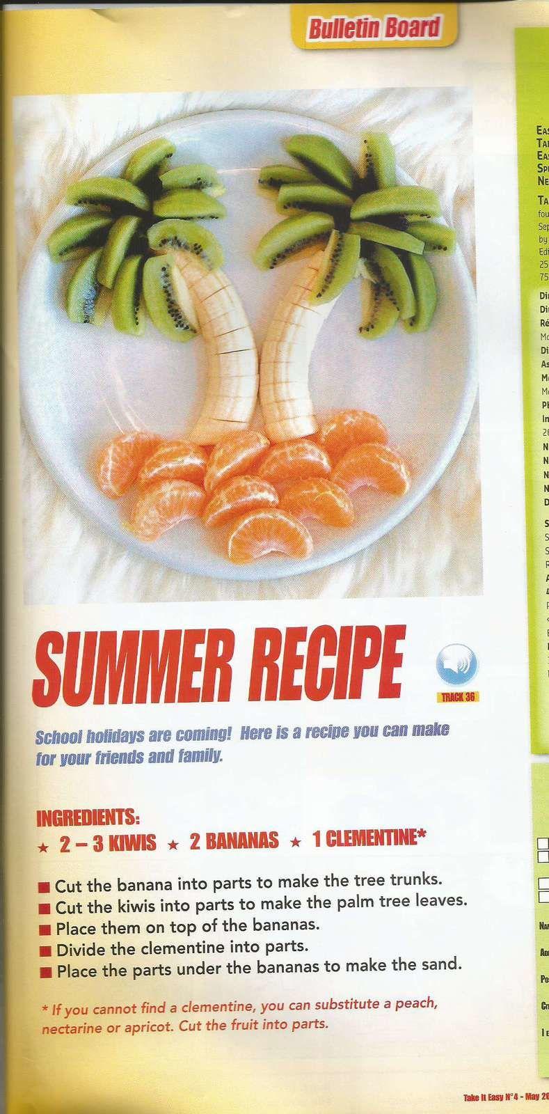 La monnaie britannique - les majuscules en anglais - les verbes de base - une recette pour l'été!