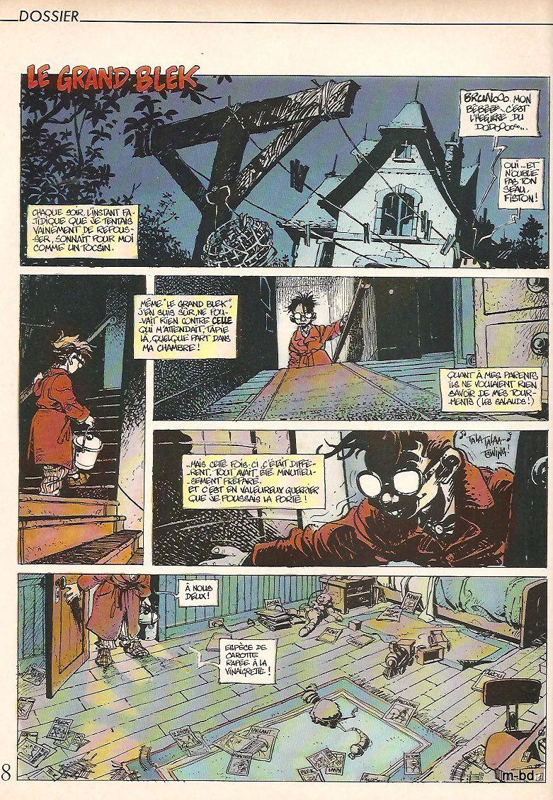 le grand blek par Regis Loisel