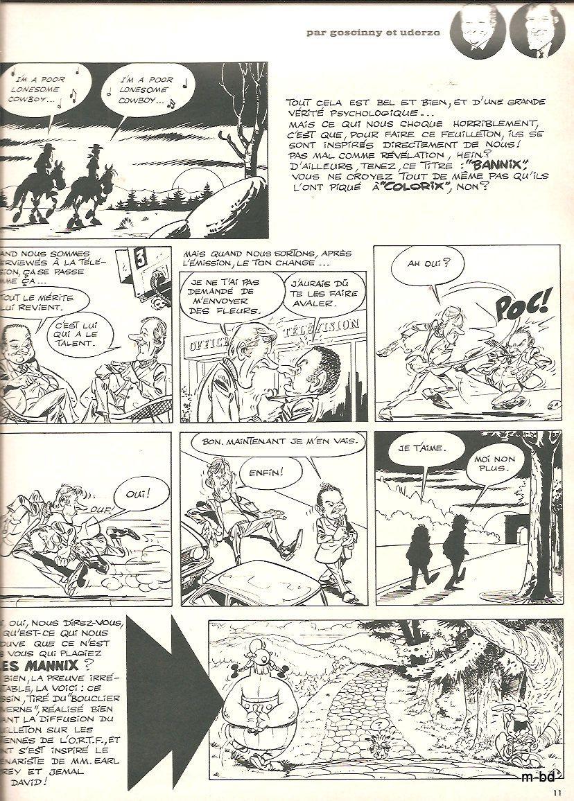 bannix par René Goscinny et Albert Uderzo