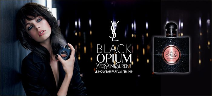 Opium Black d'Yves SAINT LAURENT