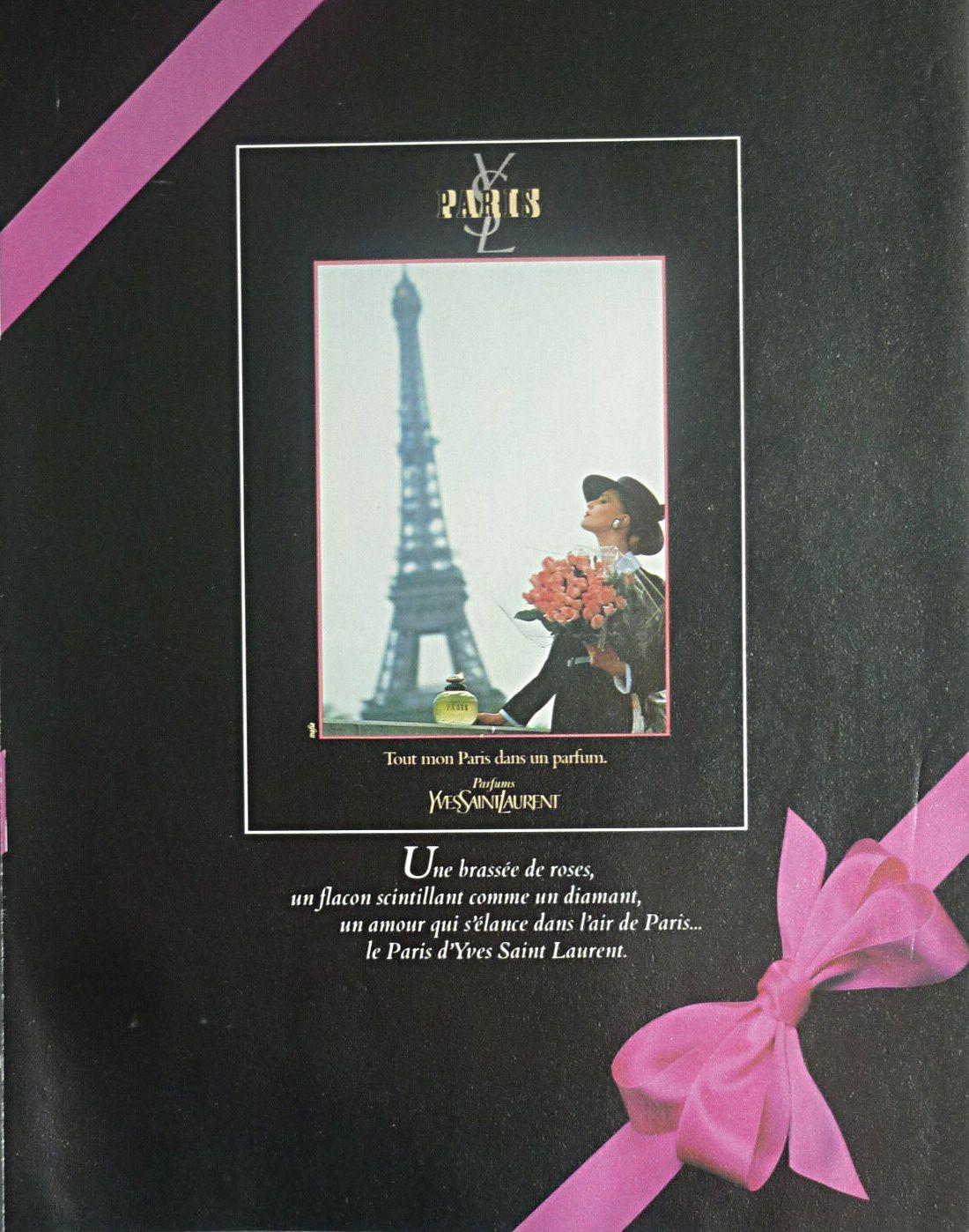Paris d'Yves SAINT LAURENT