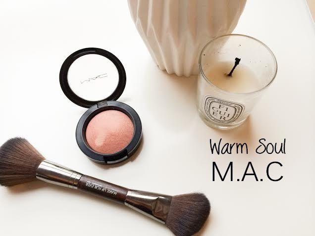 Totalement In Love du blush Warm Soul de M.A.C