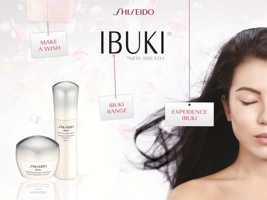 Wanted le rituel Ibuki de Shiseido