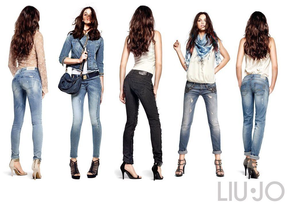 Wanted, le jean regalbant Bottom Up Liu Jo