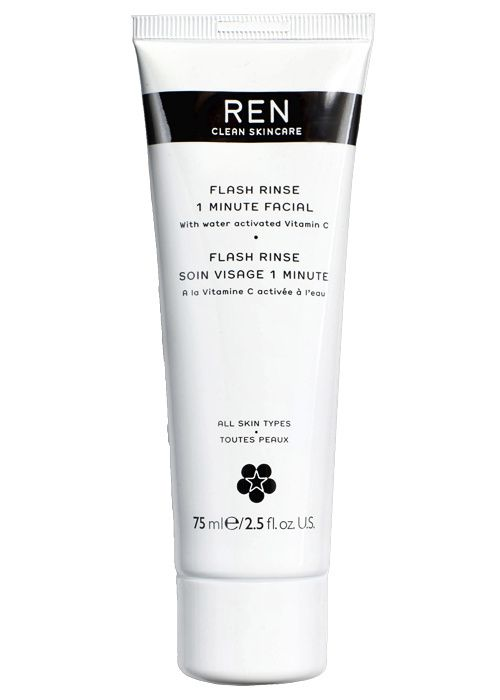Wanted: Le masque Flash Rinse, 1 minute facial de REN