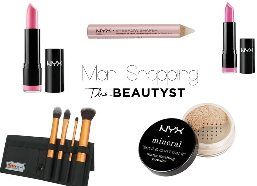 Mon shopping Make-up // THE BEAUTYST