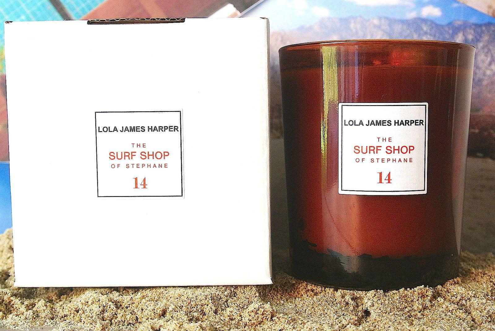 Découverte des bougies Lola James Harper #BigLove