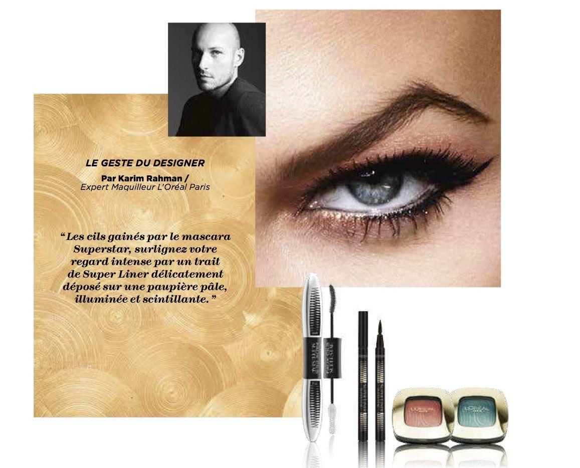 Tout le glamour de la French Riviera dans la nouvelle collection maquillage L'or Pin-up de L'OREAL