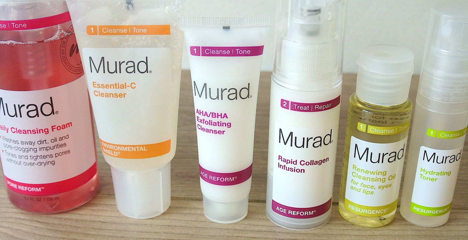 NEW IN// Pore Reform Daily Cleansing &amp&#x3B; Rapid Infusion Collagen MURAD