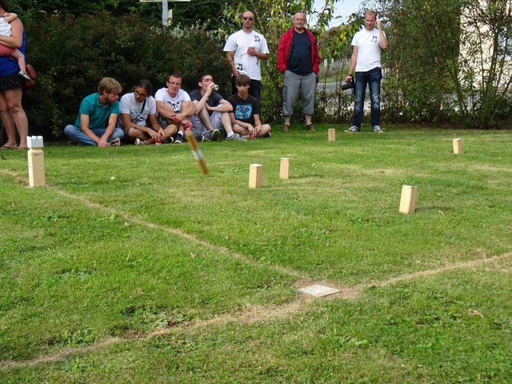 5e tournoi de Kubb de Bertreville