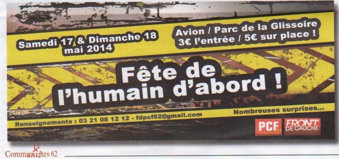 FÊTE DE L'HUMAIN D'ABORD 2ème ÉDITION ET BEAUCOUP D'AMBITION