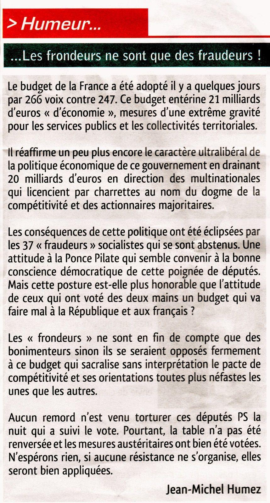 Communistes 62 de Décembre 2014 n° 39