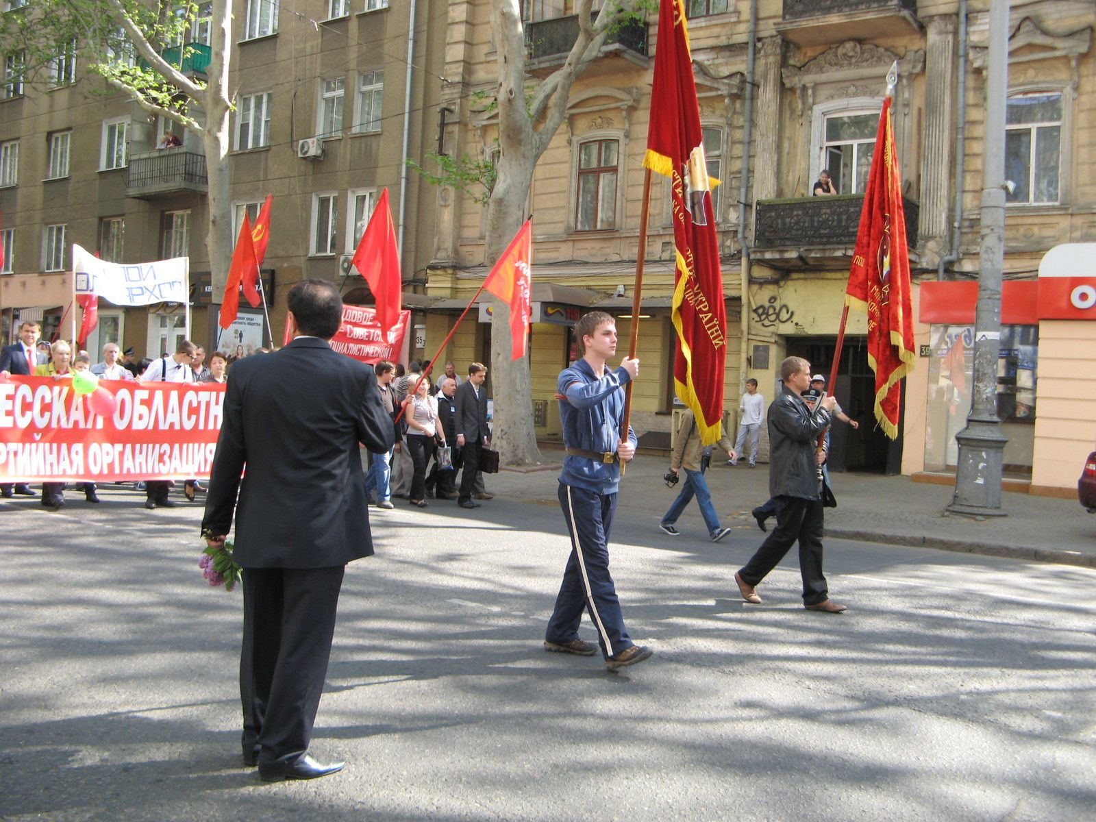UN DEBUT DE PLANNING DE LA TOURNEE DES UKRAINIENS COMMUNISTES ET ANTIFASCISTES