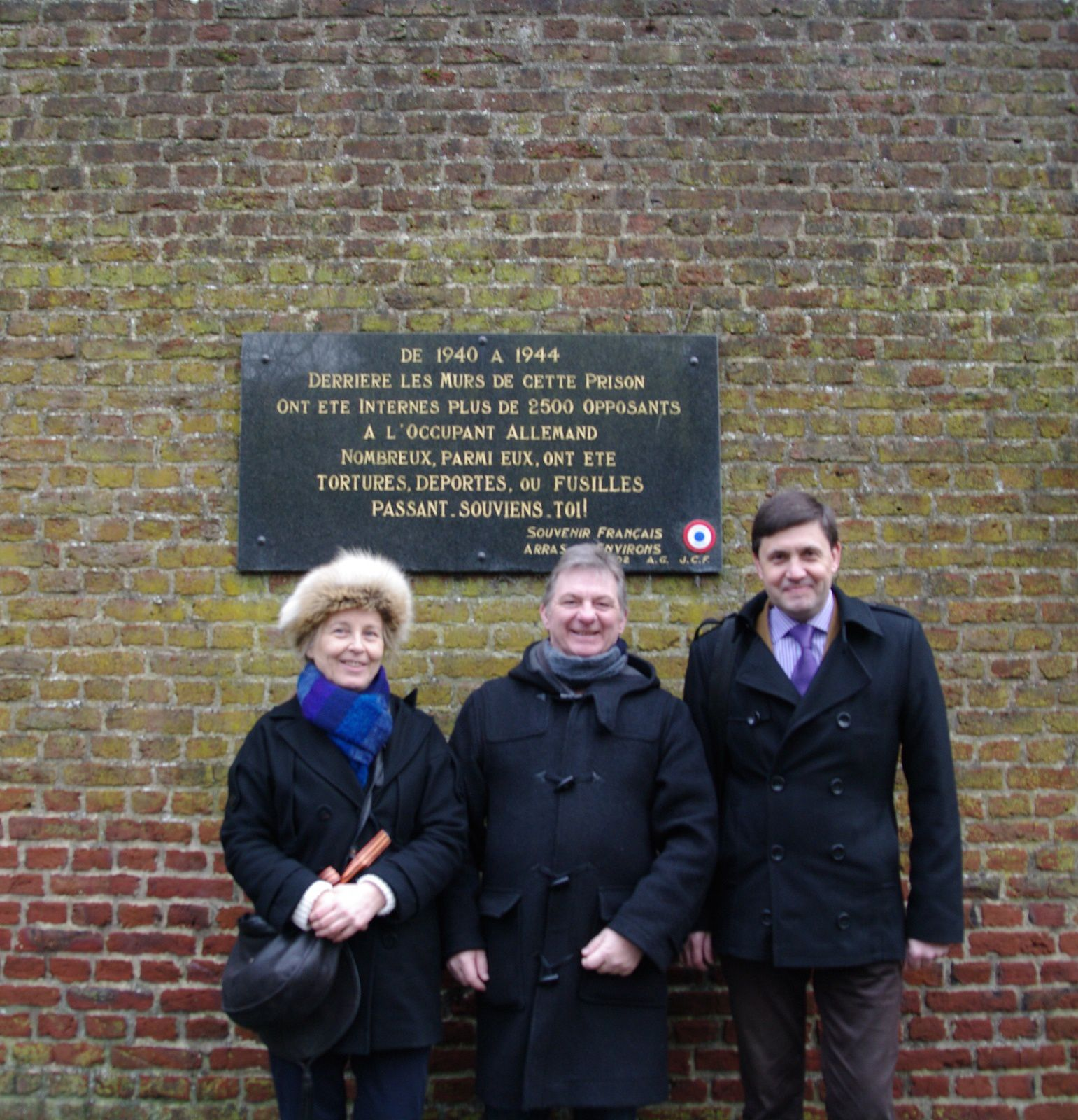 Des communistes ukrainiens en visite dans le Pas-de-Calais