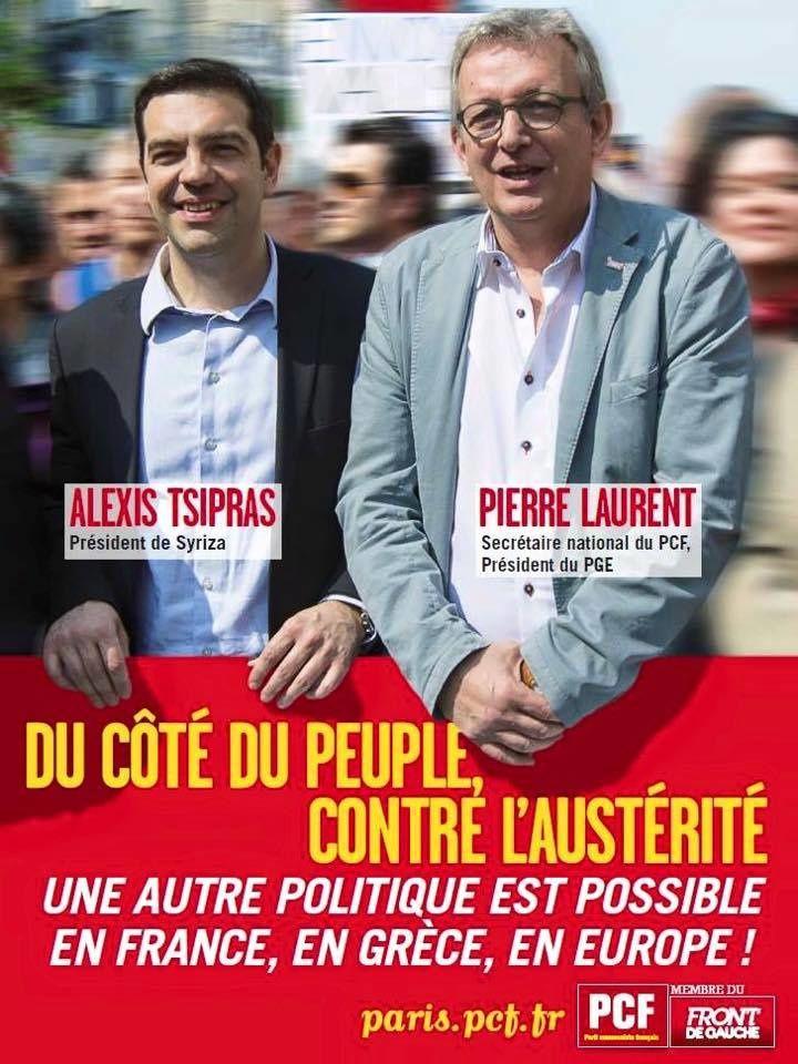 Pierre Laurent : &quot&#x3B;Un grand jour de joie pour le peuple grec