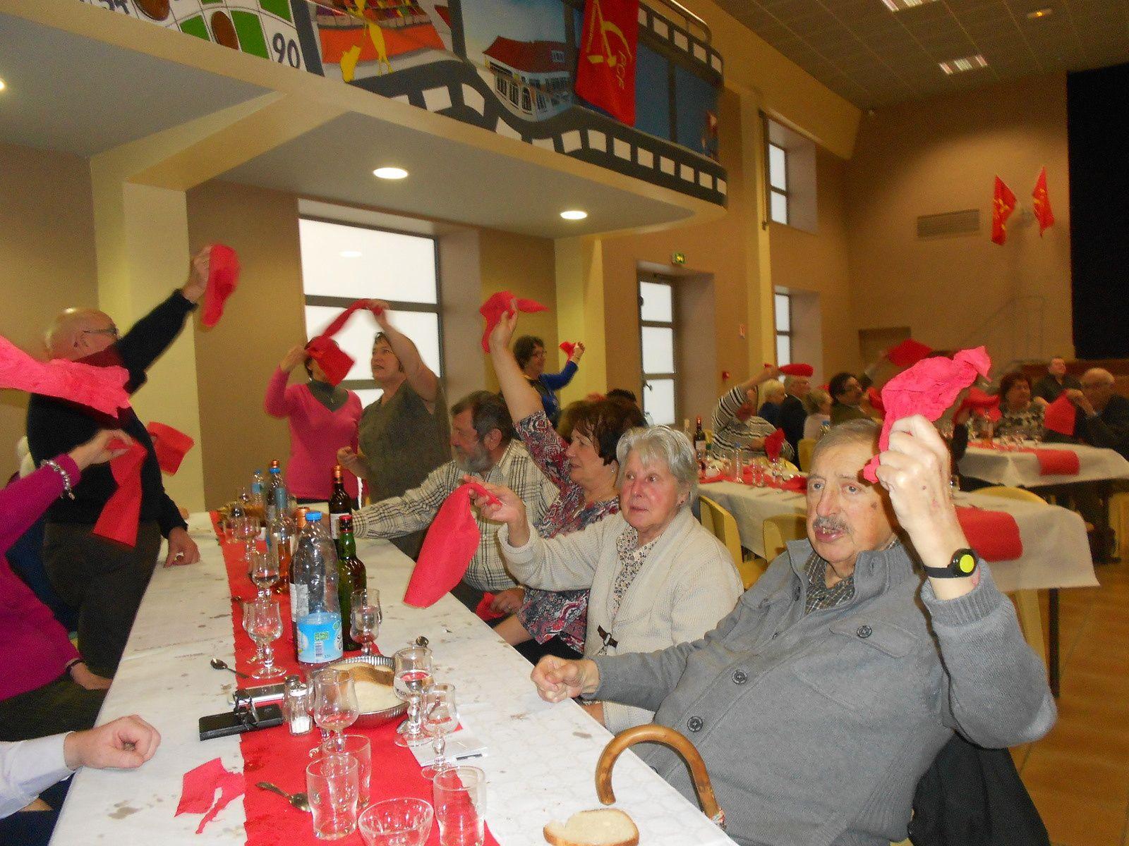 Banquet des vétérans du PCF le samedi 6 décembre 2014
